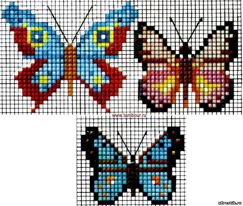 Нарисовать схему для вышивки бисером