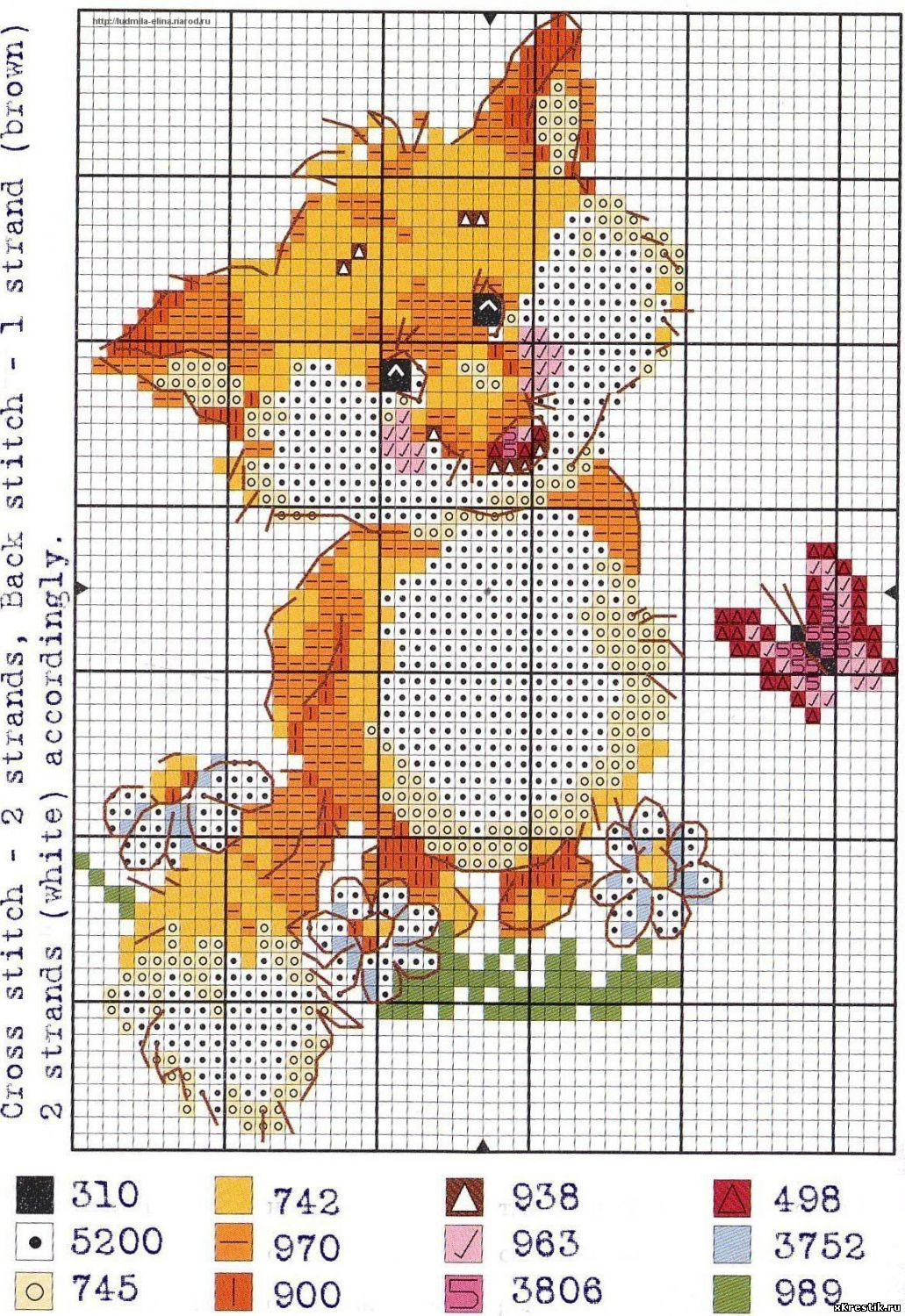 Схема вышивки крестом замок фото 337